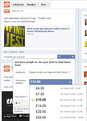 using facebook as part of your seo tools